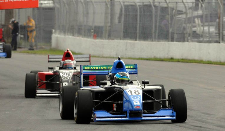 F-Mazda: Ernesto Otero larga em nono no Canadá