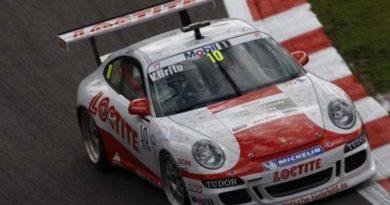 Porsche Supercup: Valdeno é terceiro no treino livre