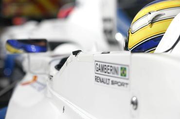 F-Renault Inglesa: Gamberini sai na 7ª fila em Rockingham