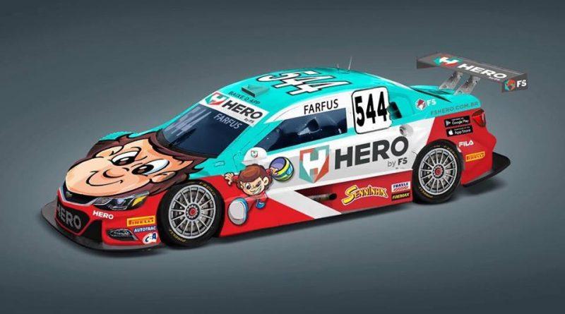 Stock Car: Augusto Farfus estreia novo layout no carro da equipe Hero Motorsports