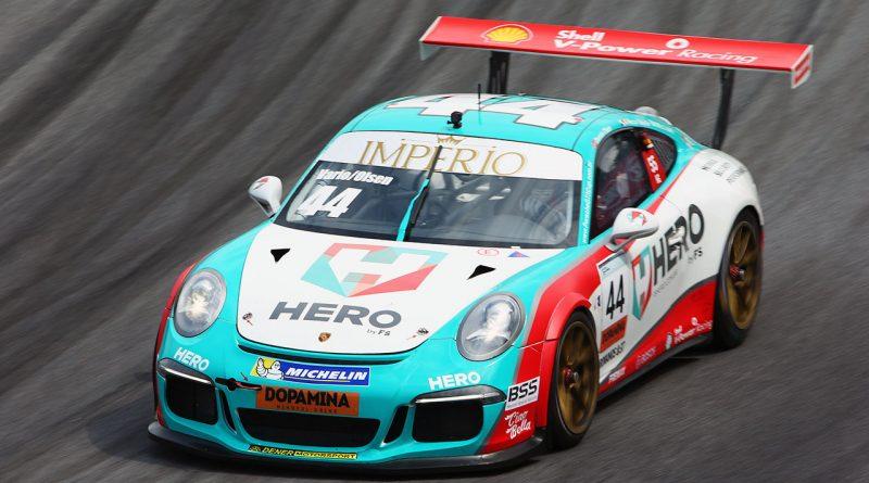 Porsche Cup: Equipe HERO busca a vitória em duas categorias