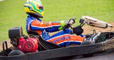 Kart: Alberto Cesar Otazú encerra temporada vencendo