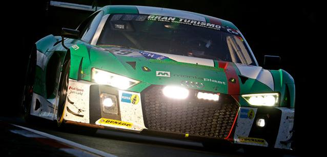 24 Horas de Nürburgring: Quarteto da Audi vence a 45ª edição