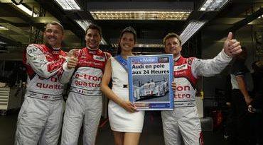 24 Horas de Le Mans: Audi domina grid de largada