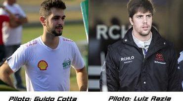 Sprint Race: Guido Cotta confirma Luiz Razia como parceiro na Corrida de Convidados