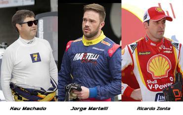 Sprint Race: Jorge Martelli e Kau Machado terão Ricardo Zonta na Corrida de Convidados