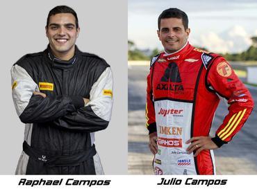 Sprint Race: Último vencedor da Stock Car, Julio Campos é o piloto convidado de Raphael Campos