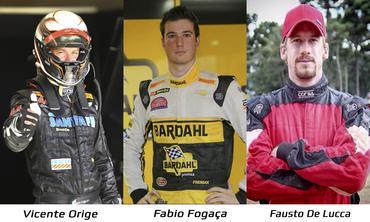 Sprint Race: Vicente Orige, Fabio Fogaça e Fausto De Lucca estarão juntos na Corrida de Convidados