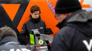 F4 Alemã: Felipe Drugovich chega otimista para a abertura da F4 Alemã após liderar testes de pré-tem