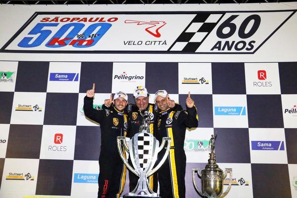500 Km de São Paulo: Porsche 911 GT3 R vence os 500 Km de São Paulo - Troféu Stuttgart 20 anos