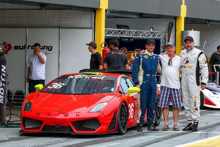 500 Milhas de Londrina: Lamborghini na pole position