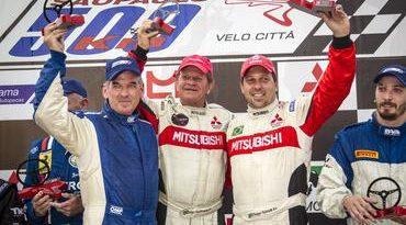 500Km de São Paulo: Por um décimo, Mitsubishi Lancer derrota Ferrari e fatura o título dos 500Km de