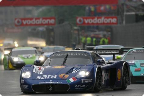 FIA GT: Em Bucareste, Maserati MC12 vence mais uma no ano