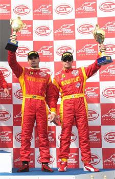 FIA GT: Terceiro lugar em Brno mantém liderança de Melo Júnior e Bobbi