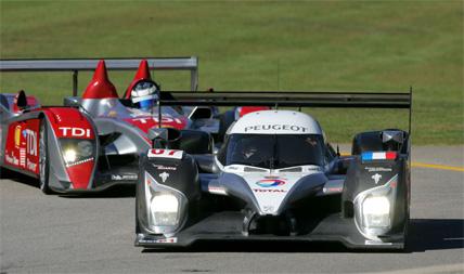 ALMS: Stephane Sarrazin marca a pole-position para a Petit Le Mans