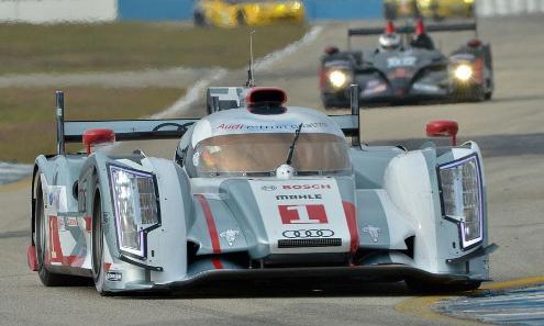 ALMS: Audi domina classificação para as 12 Horas de Sebring