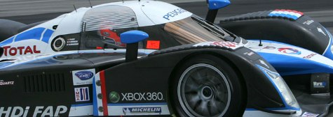 ALMS: Peugeot é a mais rápida nesta terça-feira