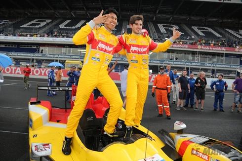 Asian Le Mans Series: Sean Gelael/Antonio Giovinazzi vencem em Buriram