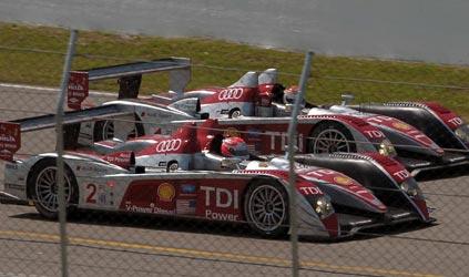 ALMS: Pela terceira vez consecutiva Audi faz a dobradinha