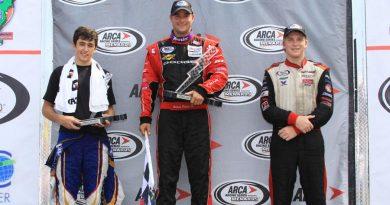 ARCA Racing Series: Após metade da temporada, Brennan Poole lidera o campeonato