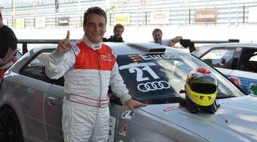 Audi DTCC: Após vitórias na estreia, Elias Azevedo comemora patrocínio para o Audi DTCC