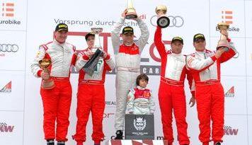 Audi DTCC: Quatro corridas, três vitórias