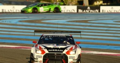 Blancpain Endurance Series: Trio da Nissan vence em Paul Ricard