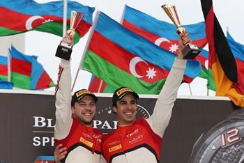 Blancpain Sprint Series: Cesar Ramos/ Laurens Vanthoor vencem as duas provas em Baku