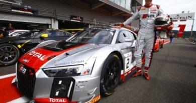 24 Horas de Spa-Francorchamps: Audi R8 LMS larga na pole na Bélgica