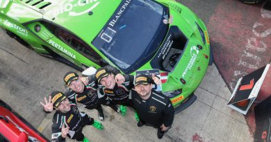 Blancpain Endurance Series: Trio da GRT Grasser Racing Team vence em Silverstone