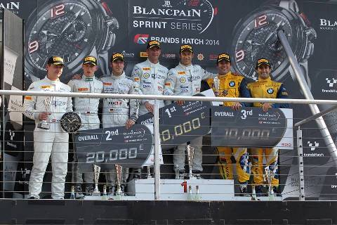 Blancpain Sprint Series: Jeroen Bleekemolen/ Hari Proczyk vencem as duas provas em Brands Hatch