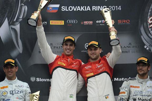 Blancpain Sprint Series: Vanthoor/Ramos e Baumann/Jager vencem na Eslováquia