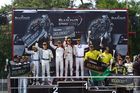 Blancpain Sprint Series: Laurens Vanthoor e Robin Frijns vencem as duas provas em Zolder