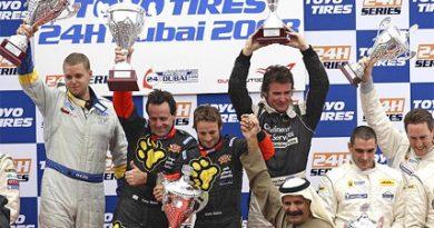 24 Horas de Dubai: Porsche de Tony Quinn/ Clark Quinn/ Greg Baird/ Jonathan Webb vence a prova