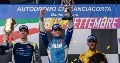 EuroNascar: Brasileiro Felipe Rabello manteve liderança na Rookie Cup