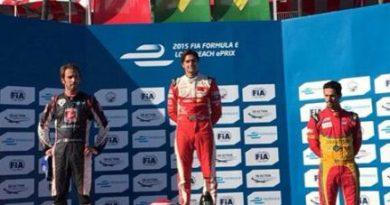 Fórmula-E: Nelsinho Piquet vence em Long Beach