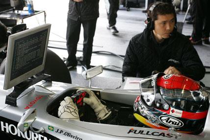 F-Nippon: João Paulo de Oliveira foi o terceiro no Japão