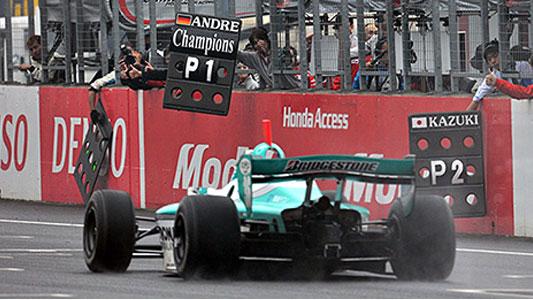 F-Nippon: Andre Lotterer é o Campeão de 2011