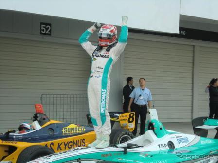F-Nippon: Kazuki Nakajima é o Campeão de 2012