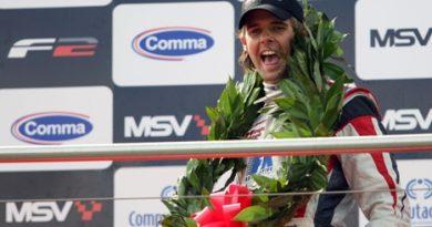 F2: Andy Soucek dispara na liderança do campeonato