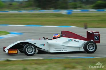 F4 Sudam: Juan Manuel Casella vence primeira prova em El Pinar