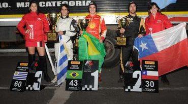 F4 Sul-americana: Pedro Cardoso ganha primeira corrida em Córdoba