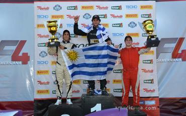 F4 Sul-americana: Pedro Cardoso vence segunda corrida em Santa Cruz do Sul