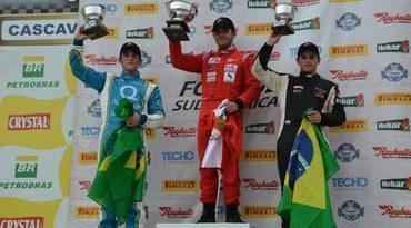 F4 Sul-americana: Rodrigo Pflucker vence prova decidida na última curva em Cascavel