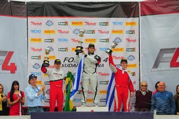 F4 Sudam: Em prova bastante movimentada, Juan Manuel Casella vence segunda corrida