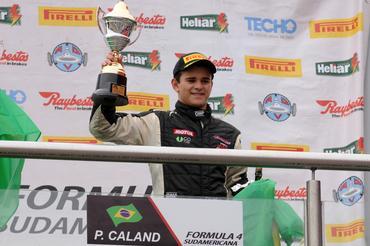 F4 Sul-americana: Pedro Caland domina e vence primeira corrida em Termas de Río Hondo