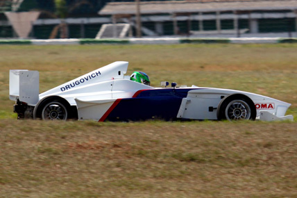 F-BMW Americana: Lucas Foresti na preliminar do GP Brasil de F-1