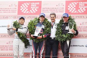 GP de Macau: Carlos Sainz Jr vence prova da F-BMW Pacific