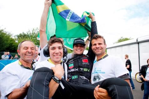 Fórmula-E: Nelsinho Piquet é o primeiro campeão da história