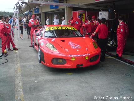 F1: Ferrari testa sozinha no Bahrein